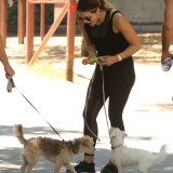 katharine-mcphee-out-with-her-dog-in-los